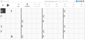 Chordify.net shows chords of a YouTube, etc. song