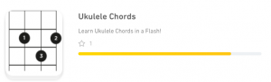 TinyCards.com - Ukulele Chords FlashCards