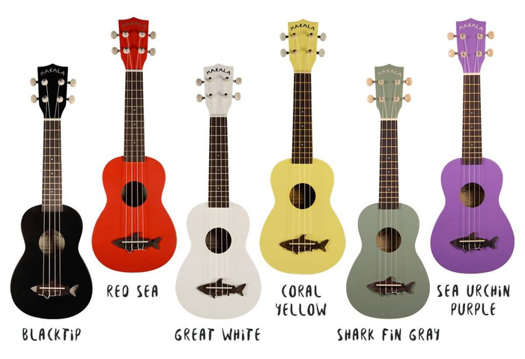 Makala Shark Ukuleles - Kala.com (Dolphin models are also available)